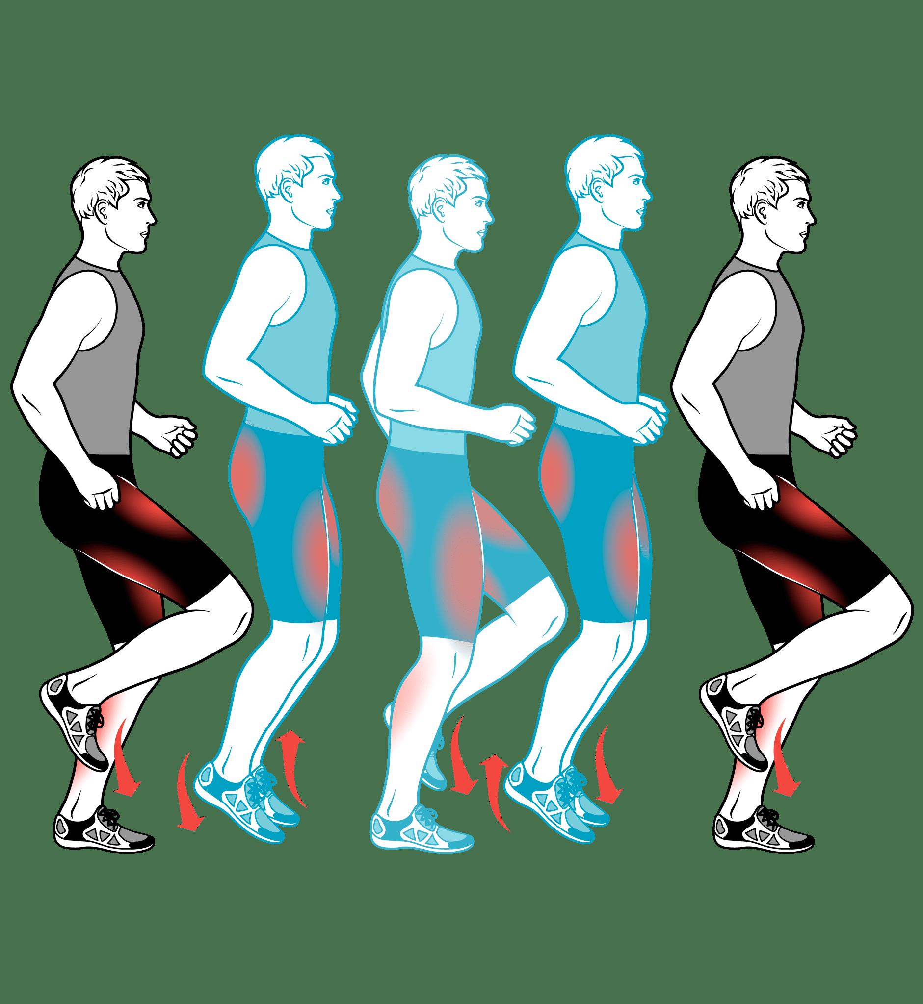 Чередование бега ходьбы похудение