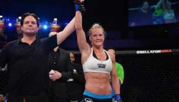 Холли Холм договаривается с UFC о бое с Рондой Роузи