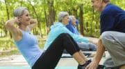Какие упражнения помогут сохранить активность тем кому за 40