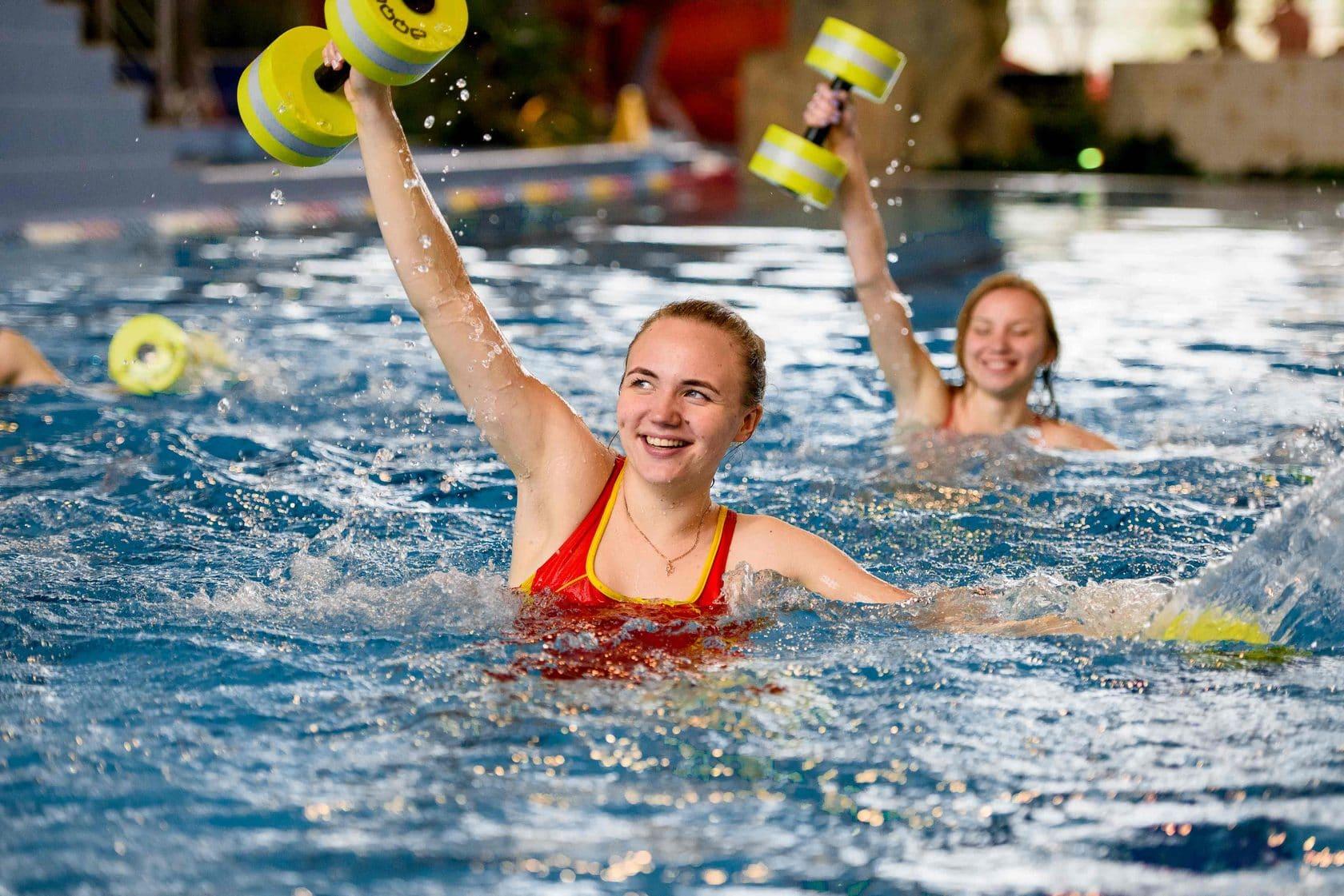 Водный фитнес для похудения