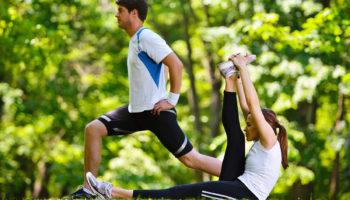 10 упражнений для уличной тренировки на все группы мышц