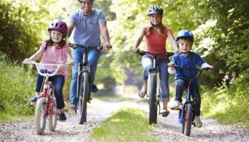 Как организовать велосипедную прогулку для всей семьи