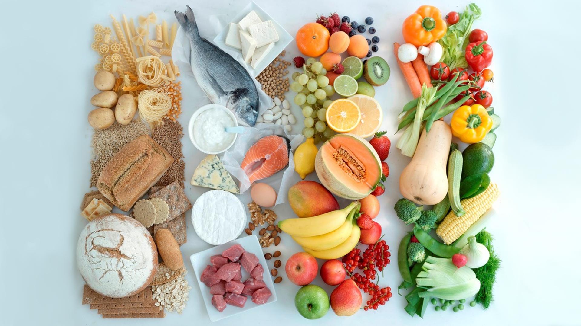 правильный питание или