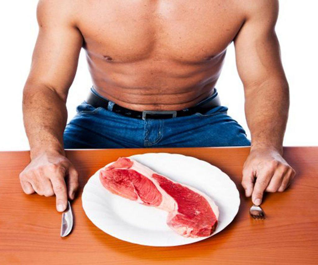 при диете сжигается жир или мышцы