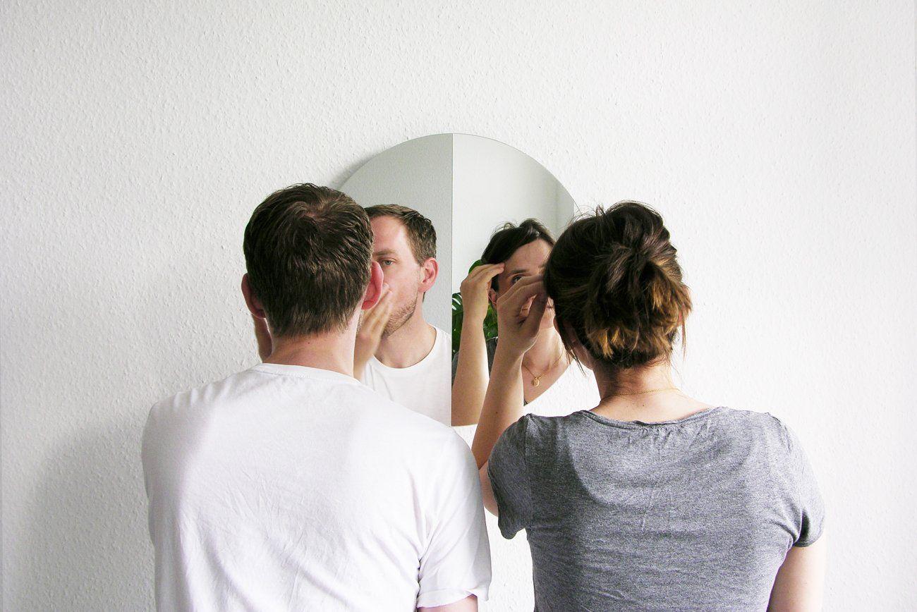 этого открыли фото приложить друг к другу и зеркала когда
