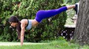5 упражнений на все группы мышц для уличной тренировки