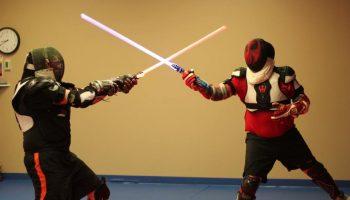 5 фактов про бои с лазерными мечами. Саберфайтинг — теперь, это официальный спорт.