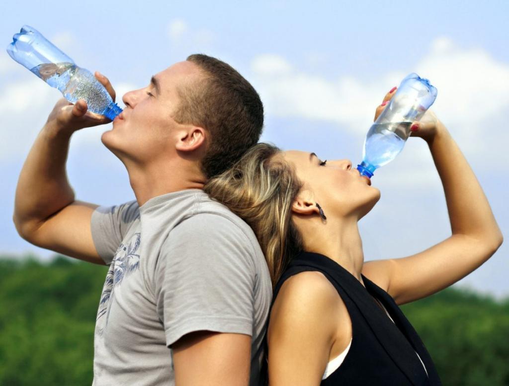 пейте воду для похудения