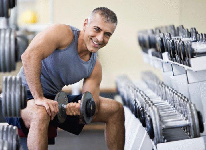 фитнес после 40 для мужчин