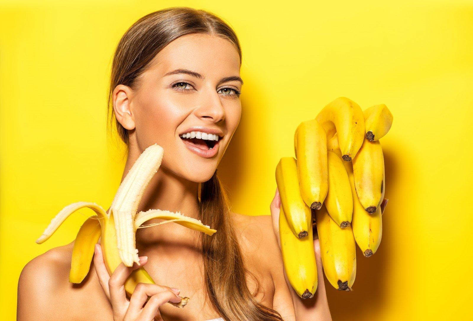 польза бананов для женщин
