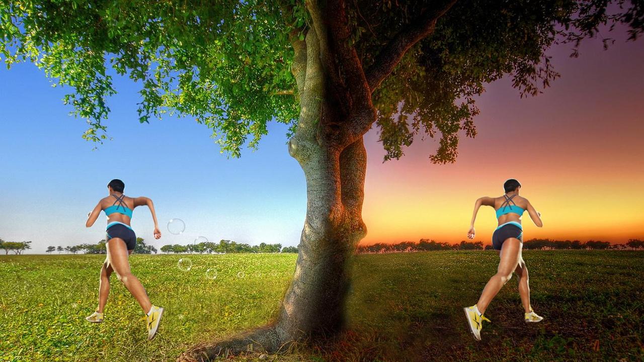 бег утром или вечером для похудения