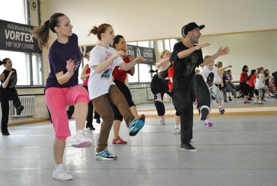 танцевальный хип-хоп фитнес